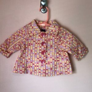 NWT Baby Gap newborn rain jacket